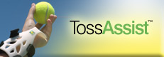 TossAssist: Tennis Training for Tennis Serves