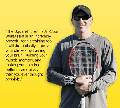 WristAssist Endorsed by Brad Gilbert